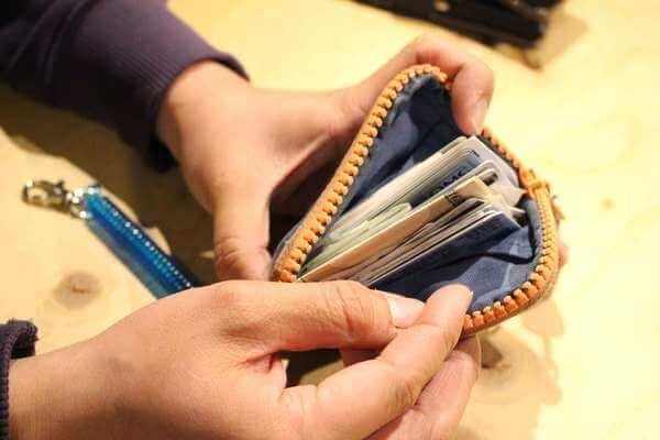 小林さんの財布