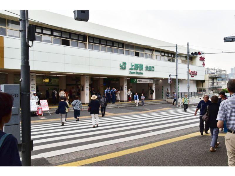 上野駅駅前
